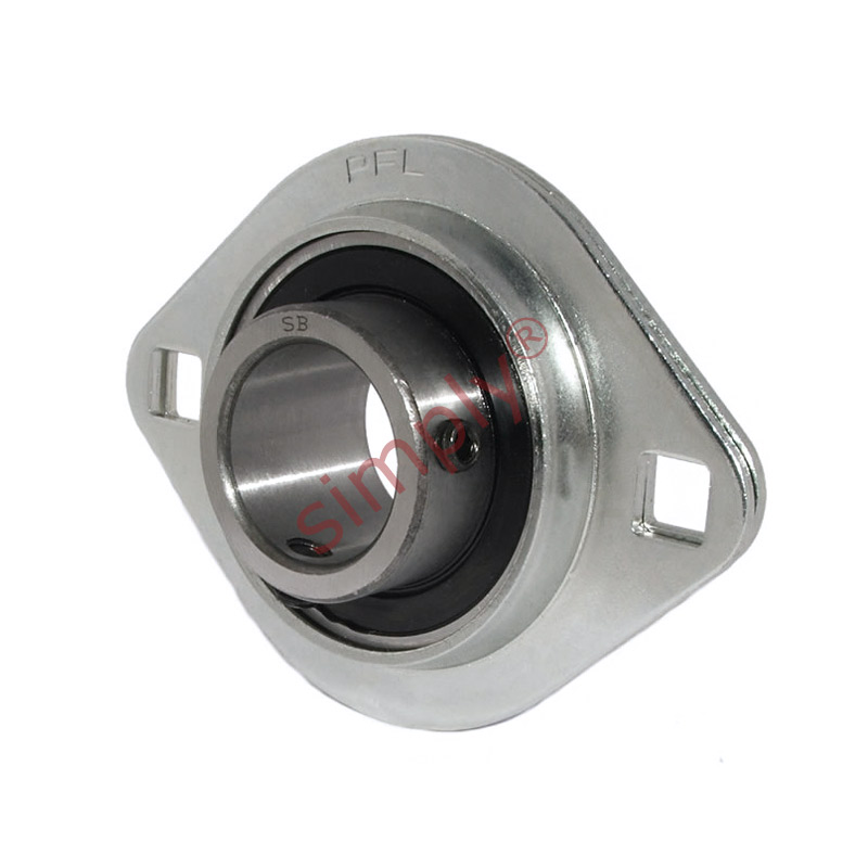 Sbpfl205 oval 2 bolt pressed steel bearing housing with for House bearing