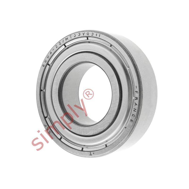 6004-zz qualité métal blindé roulement 20x42x12mm