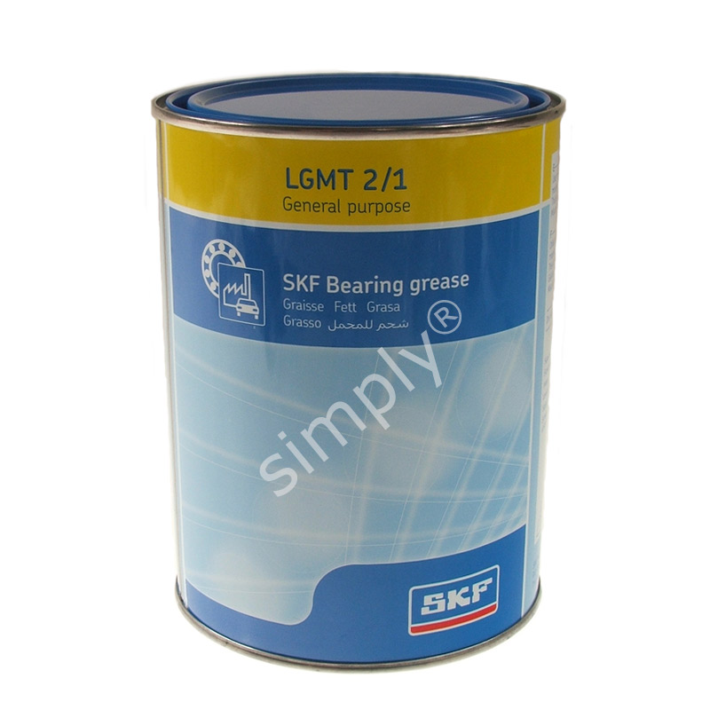 Skf lgmt2 1kg can general purpose industrial and for Electric motor bearing grease