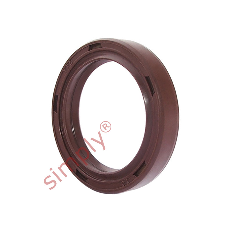 Inch viton rubber double lip rotary shaft