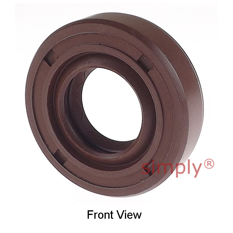 35x52x10mm TC R23 Double Lip Viton Rubber Metric Shaft Oil Seal with Spring