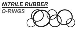 2.4mm Section 14.3mm Bore NITRILE 70 Rubber O-Rings
