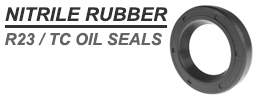SC 1x1.75x0.37 inch Nitrile Rubber Rotary Shaft Oil Seal with Spring R21