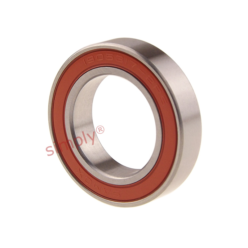 SAMOX / NBK 1905317 Rubber Sealed Max Type Deep Groove Bearing 19.05x31x7mm
