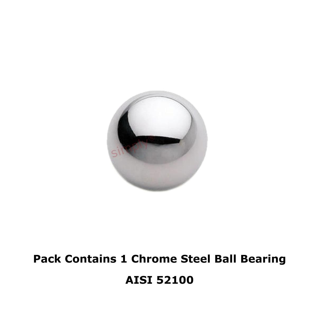 1.5mm Chrome Steel Bearing Balls Precision Grade 10 Hardened AISI52100