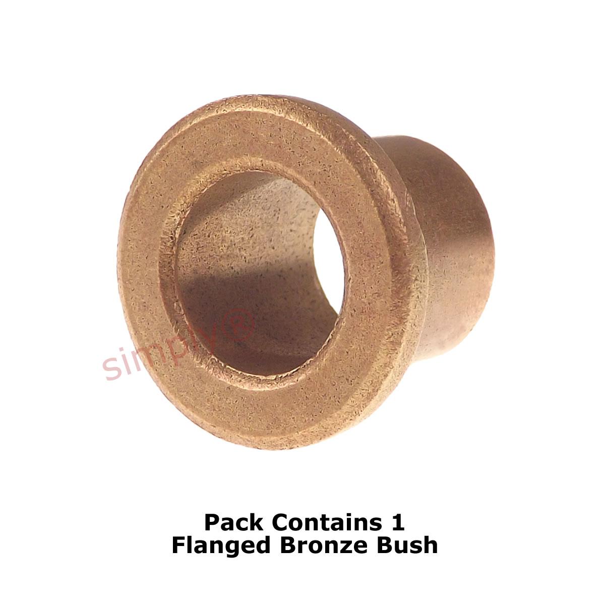 "1x1-1//4x1/"" AI162016 Oil Filled Sintered Bronze Bush Inch"