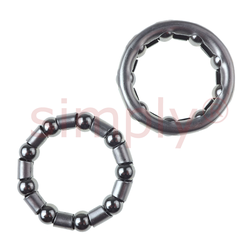 Pack of 2 Weldtite 516 inch Bottom Bracket Ball Race Cages