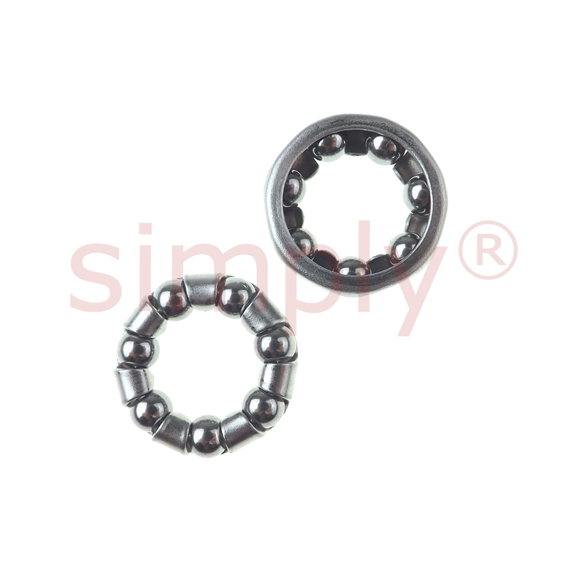Caged Ball Bearing Races: Replacement Caged Ball Bearing