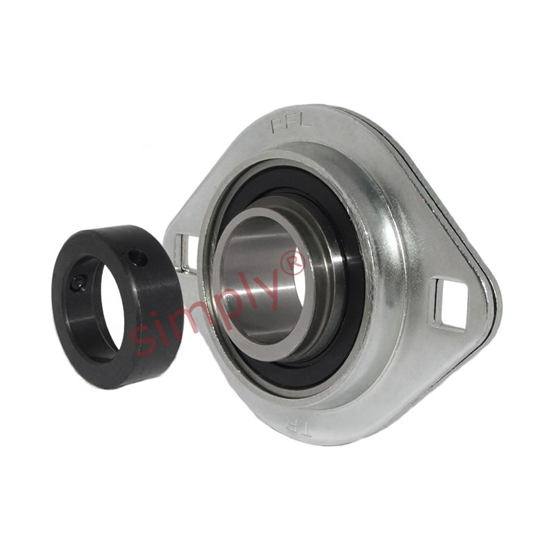 Sapfl207 oval 2 bolt pressed steel bearing housing with for House bearing