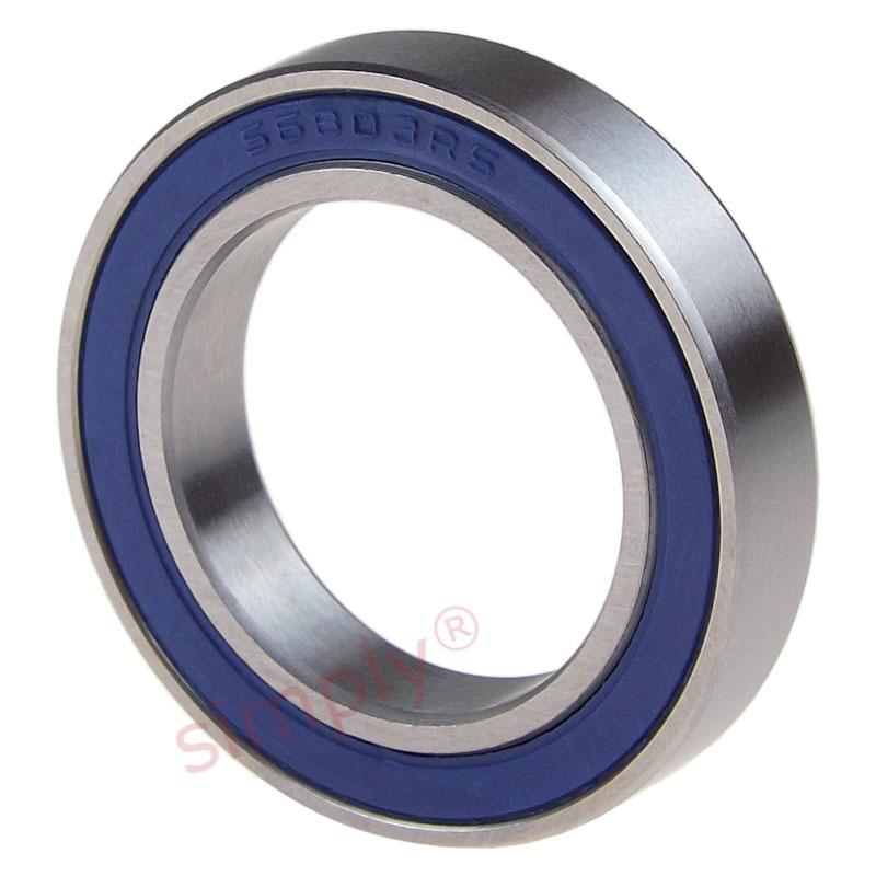 61803 2RS ZEN Sealed  Deep Groove Ball Bearing 17x26x5mm