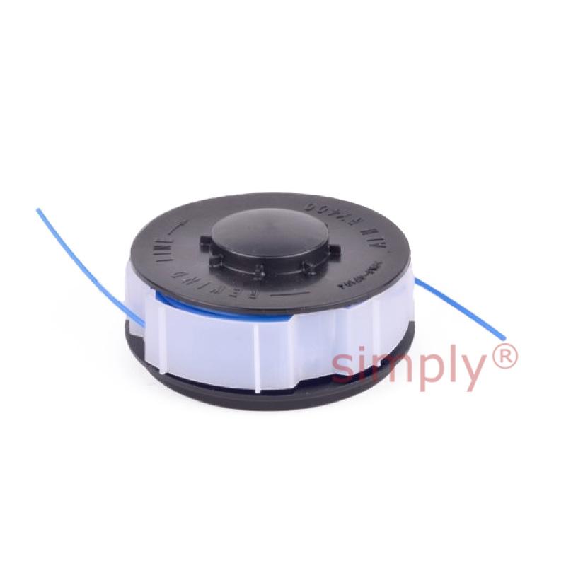 Homebase Strimmer Trimmer Spool Cap x1 Line x1 Fits DCSRT18v LRT250B SLT18-2