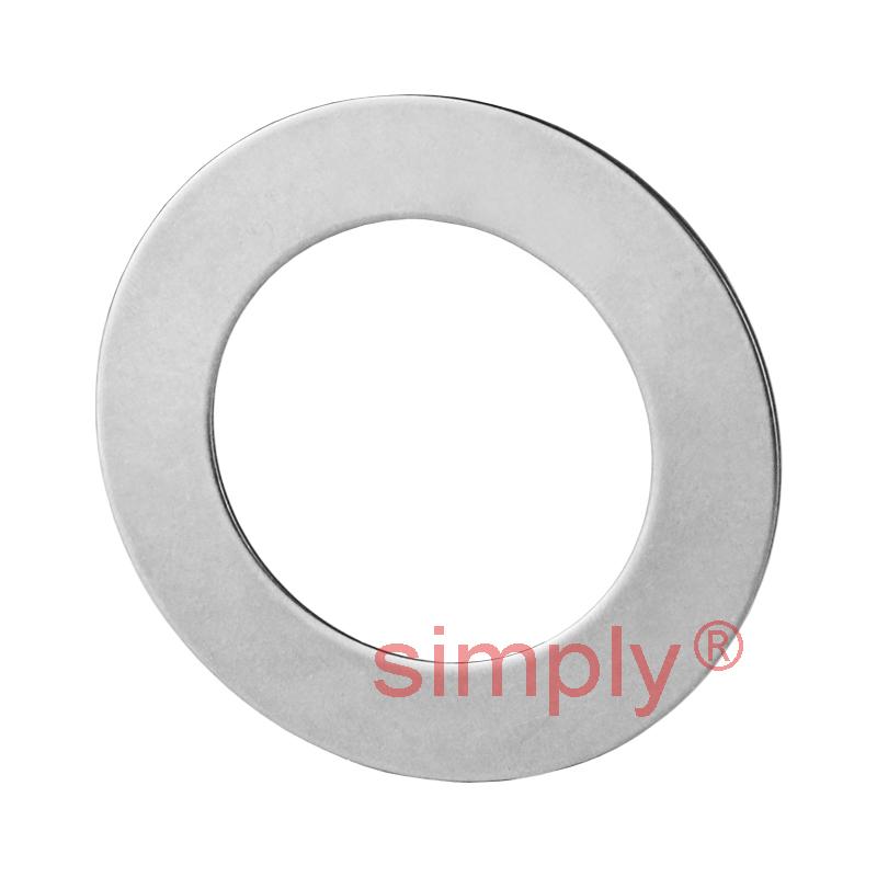 1//5//10Pcs 15x32x12mm Axial Ball Flat Washers Thrust Bearings 3-Parts