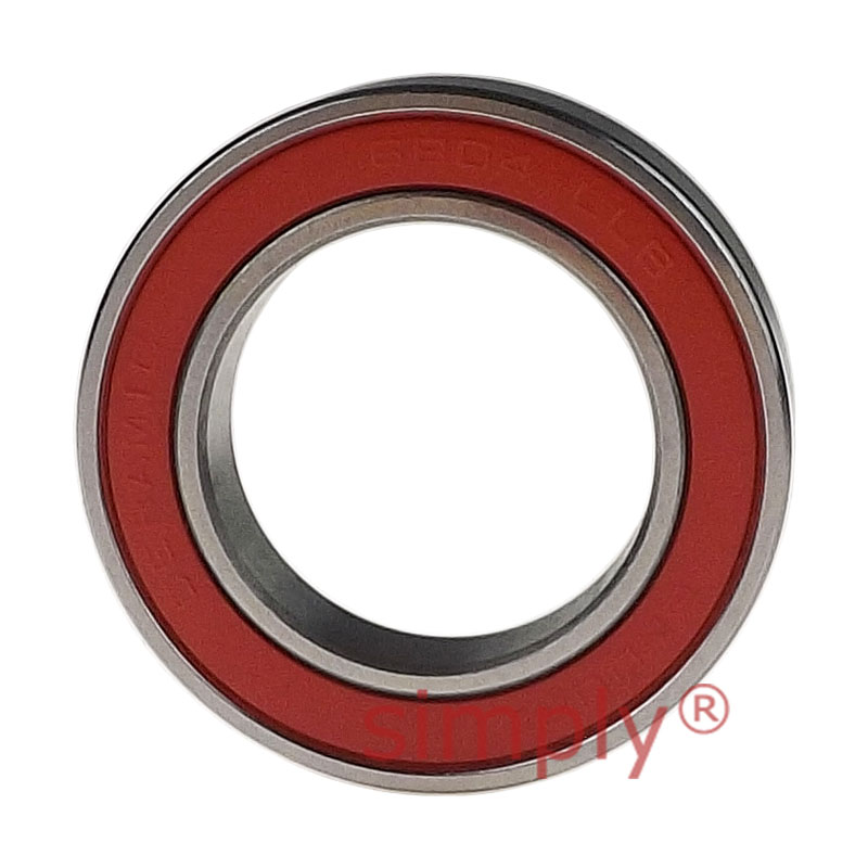 Seal.Lowest Friction 3//16 inch bore Rubber//Metal 1 Radial Ball Bearing.Hybrid