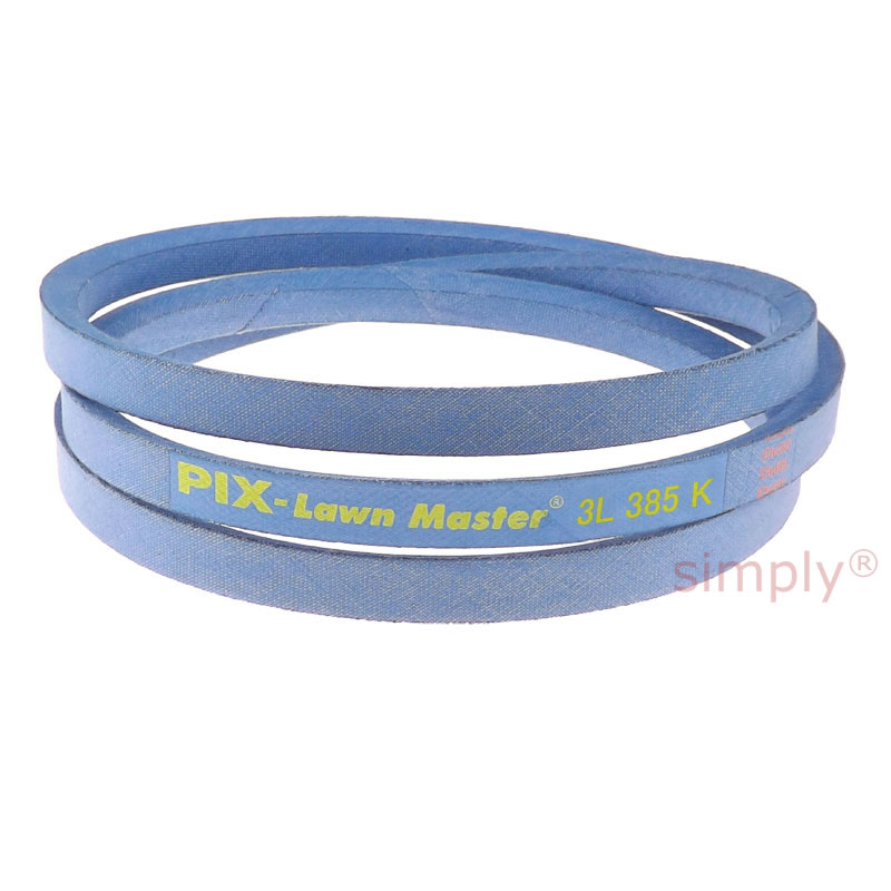 """3L450K 3L-SECTION MADE WITH KEVLAR 3//8/"""" X 45/"""" V BELT BLUE"""