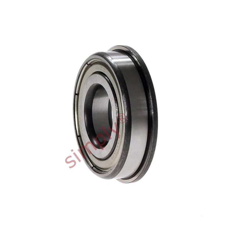 MF126ZZ Metal Shielded Deep Groove Flanged Ball Bearing 6x12x4mm