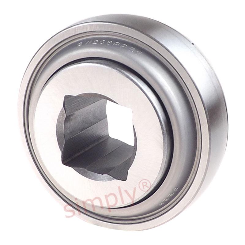 1.312 Width Metal 2.188 Round Bore 3.937 Spherical Diameter 1.312 Width Big Bearing W211PPB2 Disc Harrow Bearing 3.937 Spherical Diameter 2.188 Round Bore