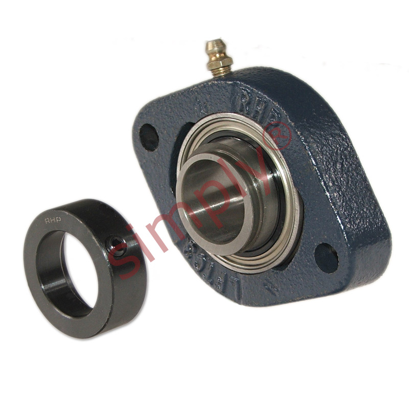 Rhp lftc25ec two bolt oval cast iron flange housing for House bearing