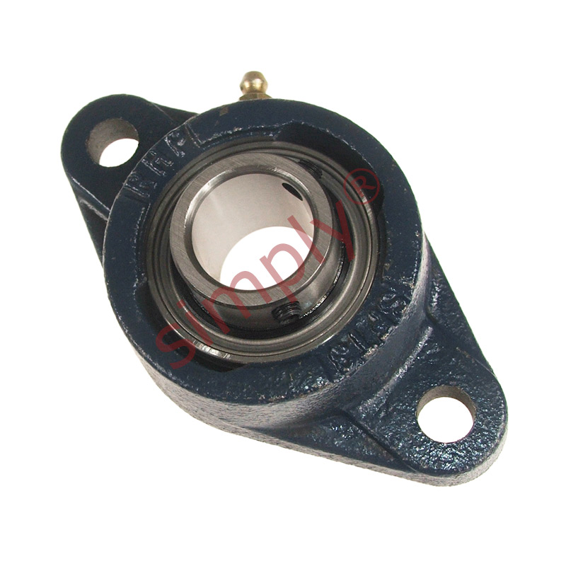 Rhp msft heavy duty two bolt oval cast iron flange