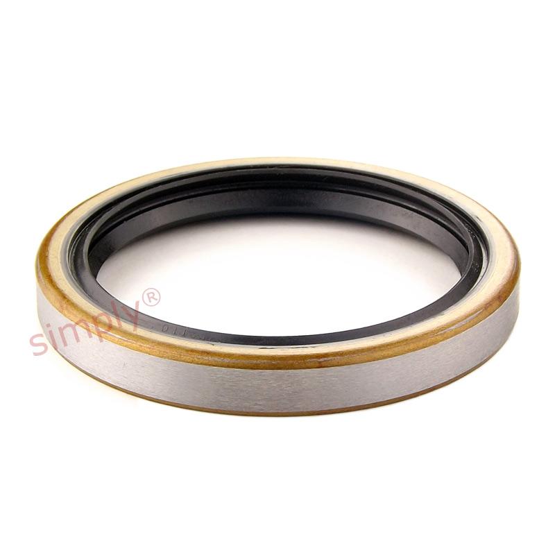 Nitrile rotary shaft seal rubber garter spring