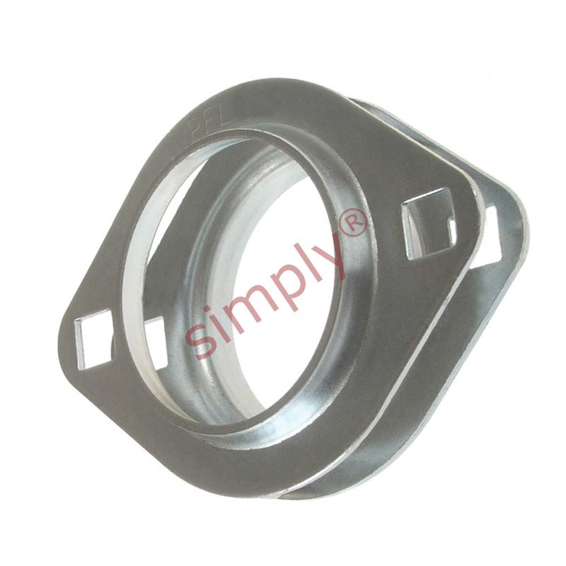Pfl203 1 set of oval 2 bolt pressed steel bearing housing for House bearing