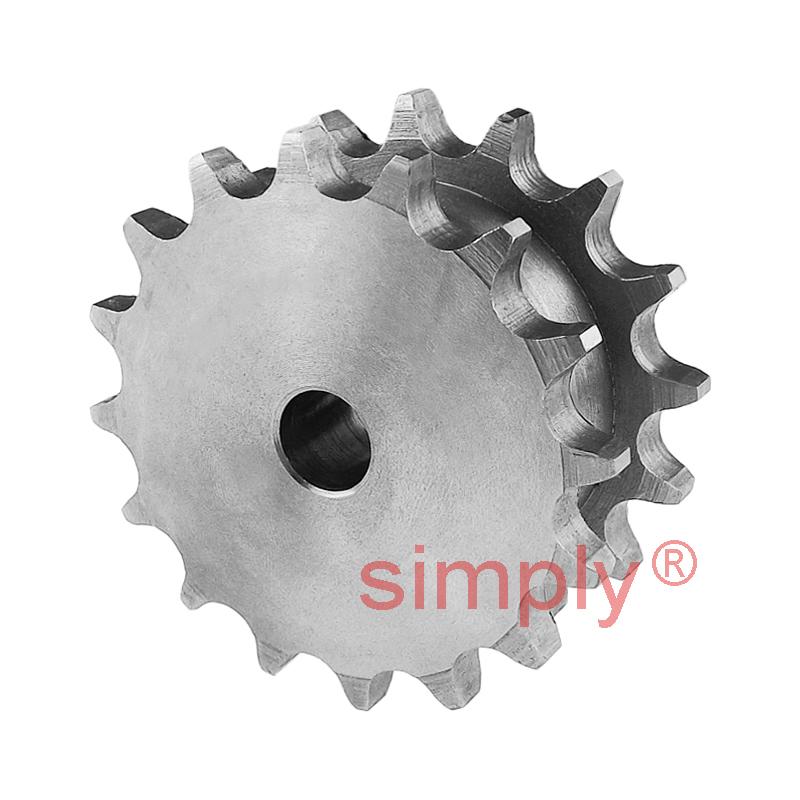 "Platewheel 1//2/"" Pitch SIMPLEX 42 dents"