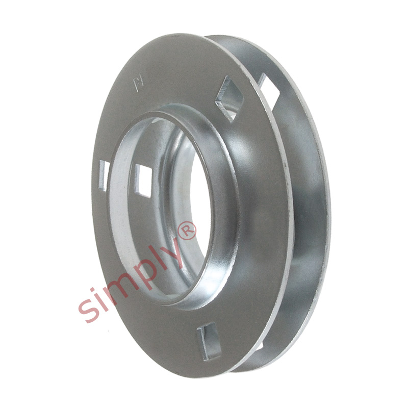 Pf205 1 set of round 3 bolt pressed steel bearing housing for House bearing