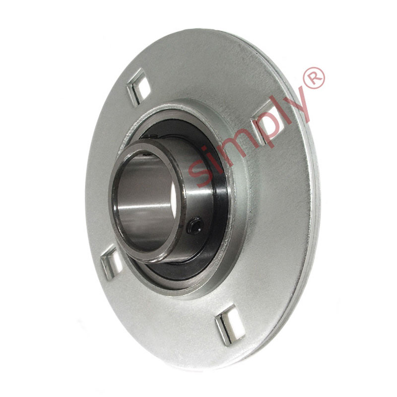 Sbpf208 round 4 bolt pressed steel bearing housing with for House bearing