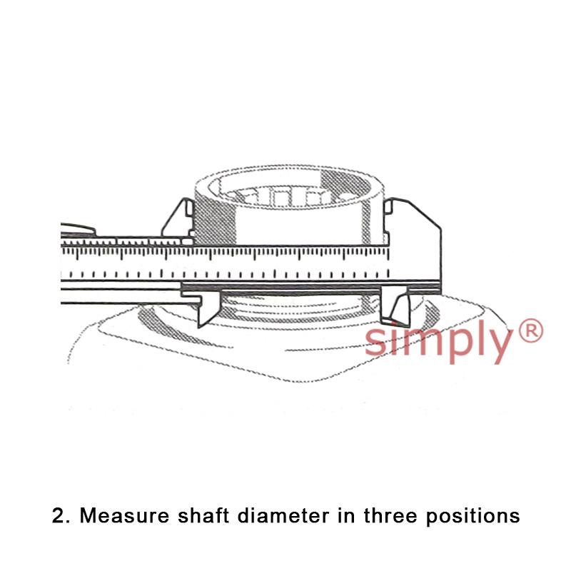 SKF 99253 Speedie Sleeve Shaft Repair 63.42-63.58mm