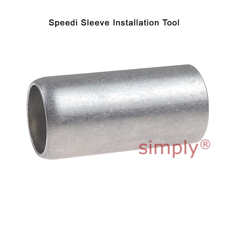 SKF CR99152 Hardened Stainless Speedi Sleeve For Shafts 1.520-1.526 Inch Simply Bearings Ltd
