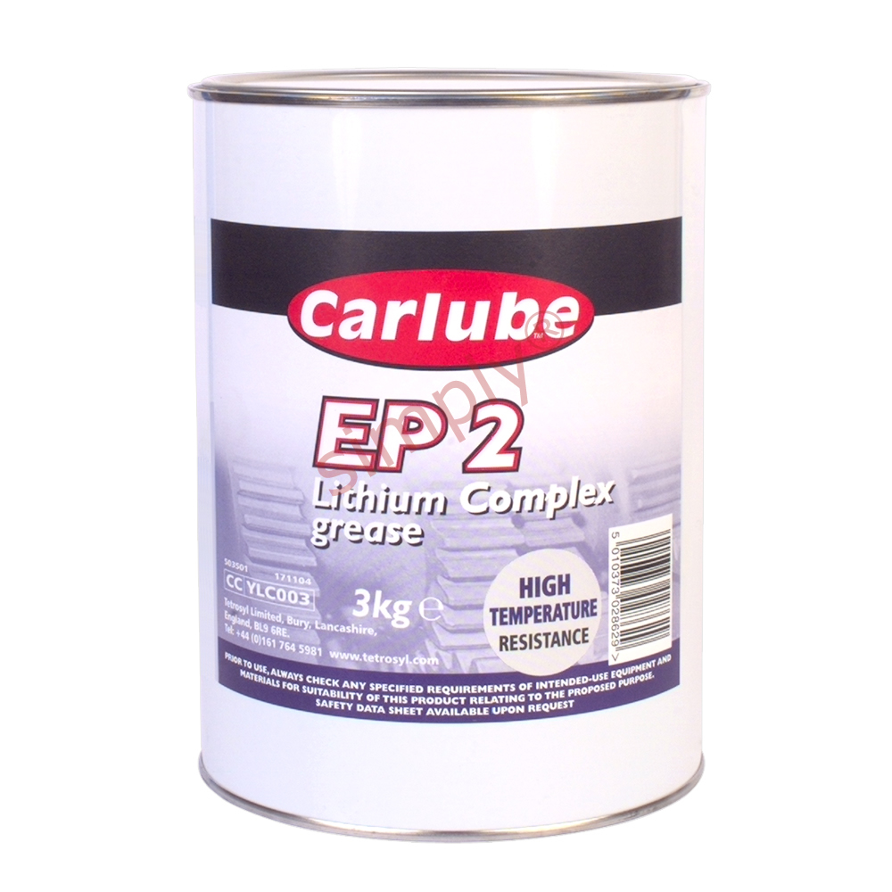 Carlube EP2 Lithium Complex Grease 3kg