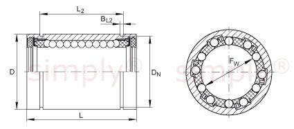 INA Linear Ball Bearing