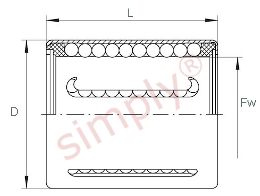 INA Linear Ball Bearing