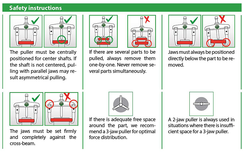 Kukko Safety Instructions