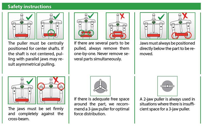 Kukko Safety Instructions