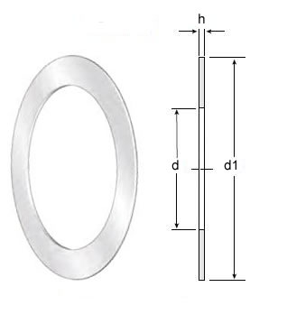 Axial Thrust Bearing Washers